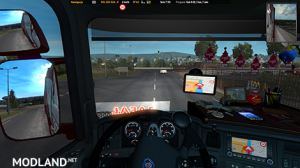 GPS RG ETS2 PRO 1.01 UPDATED 1.35.x, 3 photo
