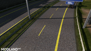 Road Yellow Stripes ets 1.36, 3 photo