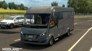 Hymer B-Class SupremeLine in traffic, 1 photo
