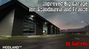 Improved Big Garage v1.3 1.36.x, 1 photo