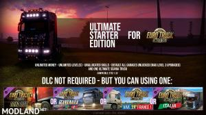 Ultimate Starter Edition – ETS2 SaveGame – By: Datex (All DLC(S) supported), 1 photo