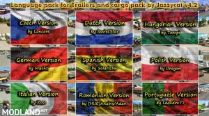 Language Pack(update1) for Trailers and Cargo Pack by Jazzycat v 4.2