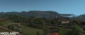 Long Freight Train in Europe v 1.0 1.35.x