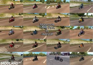 Motorcycle Traffic Pack by Jazzycat v1.5 - External Download image