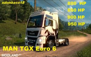 New engines for MAN TGX Euro 6 v 1.0