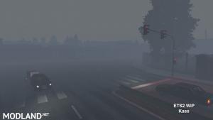 Realistic Rain & Fog & Thunder Sounds V4 ETS2 1.34, 1.35, 3 photo
