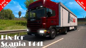 Fix for Scania 144L [ETS2 1.36.X]