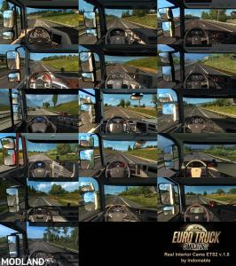 Real Interior Cams ETS2 v1.5, 1 photo