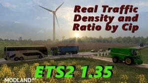 Real Traffic Density and Ratio ETS2 1.35.e, 1 photo