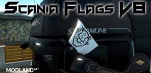 Scania V8 Original Flags, 1 photo