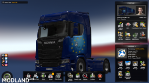 ETS2 v1.32 Savegame For Best Start (any thing bought and unlocked), 1 photo