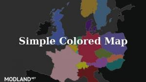 Simple Colored Map 1.28.x, 1 photo