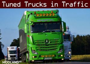 Tuned Truck Traffic Pack by Trafficmaniac v 1.8 - External Download image