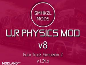 U.R Physics Mod v8 - (Re-Edit) - SMHKZL Mods 1.34.x, 1 photo