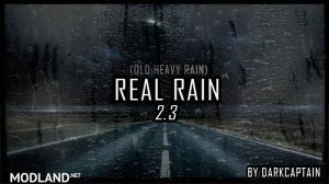 REAL RAIN v2.3 1.34, 1.35, 1 photo