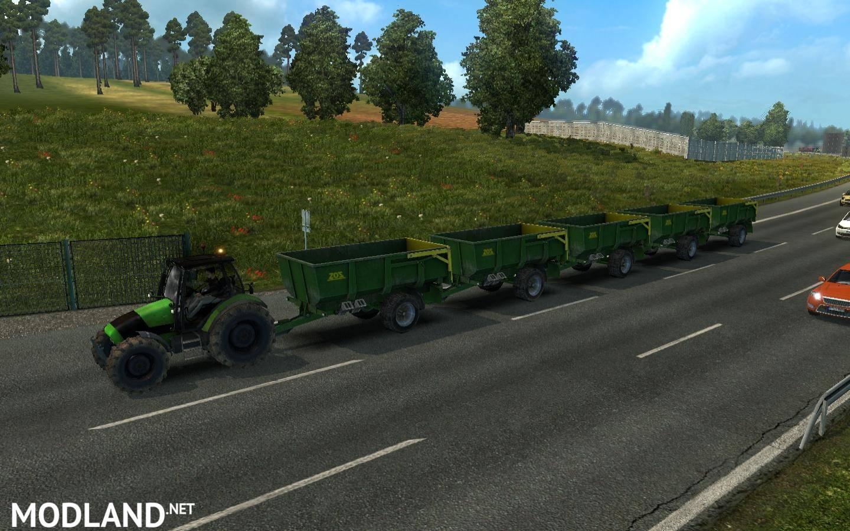 Traffic tractors ETS2 (1 27, 1 28) mod for ETS 2