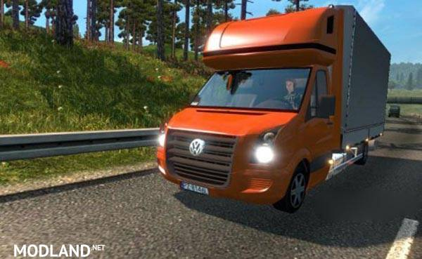 Volkswagen Crafter to Traffic mod for ETS 2