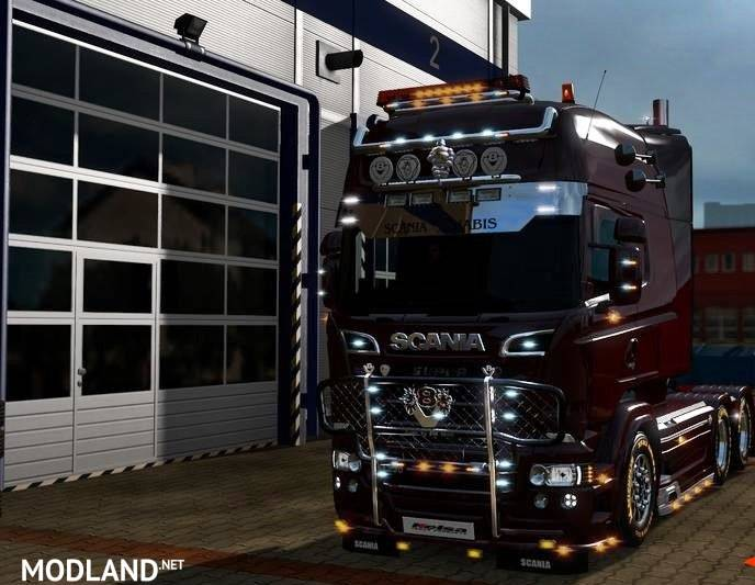 RJL's Scania Tuning mods mod for ETS 2