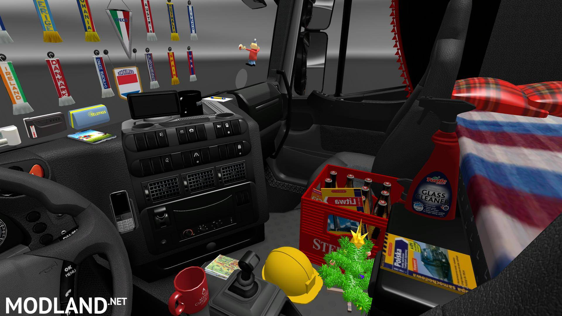 Addons for Cabin Accessories DLC mod for ETS 2