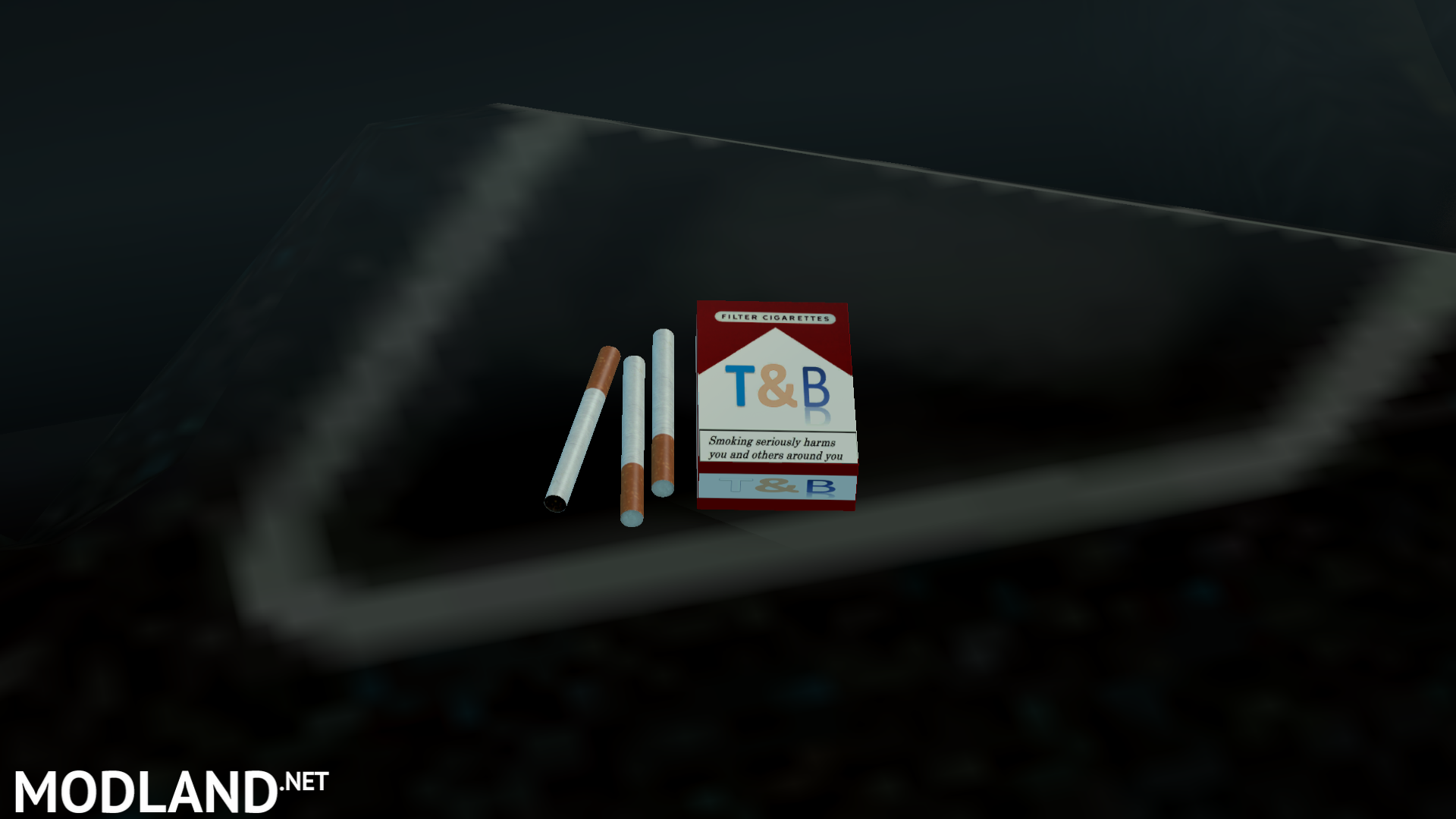 Cargo Trailer Accessories >> T&B Cigarettes - Interior Addon mod for ETS 2