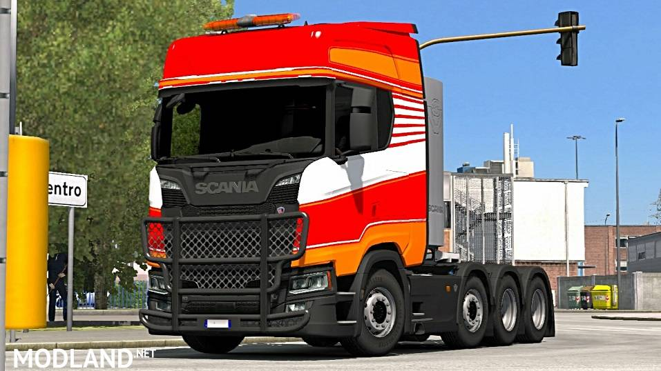 Scania R And S Next Generation 8x4 Chassis Heavy Cargo Scs