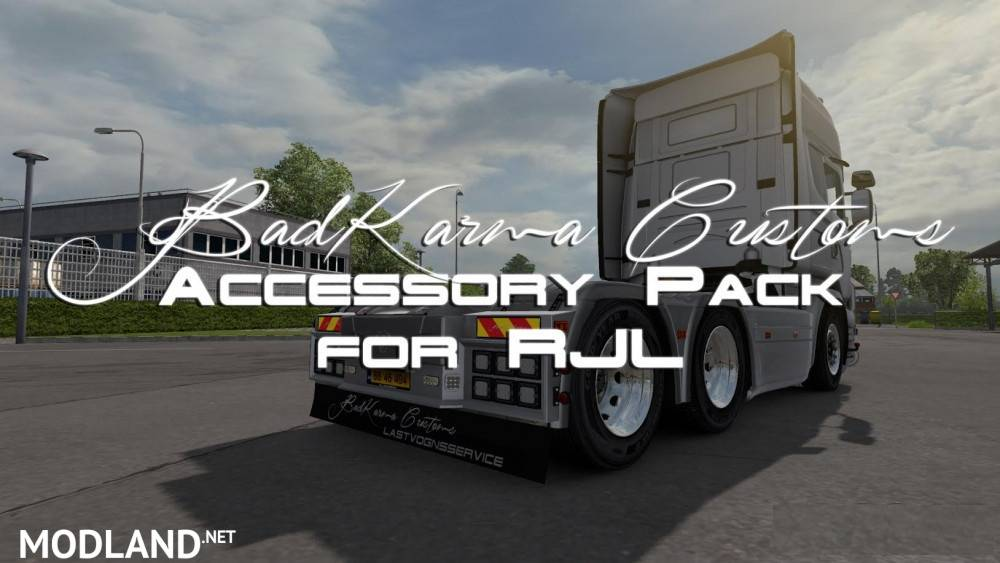 Volvo Truck Parts >> BKC Accessory Pack mod for ETS 2