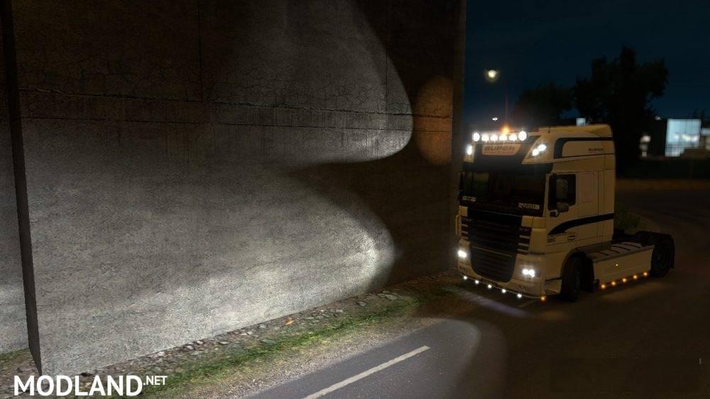 Improved Vehicle Lights v 1 9 – Frkn64 mod for ETS 2
