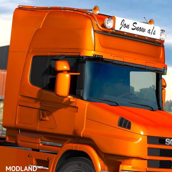 Long Bar Scania R Amp T Rjl V 2 0 Mod For Ets 2