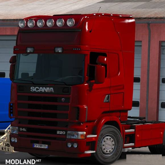 Long Bar Scania R Amp T Rjl V 2 0 Mod For Ets 2
