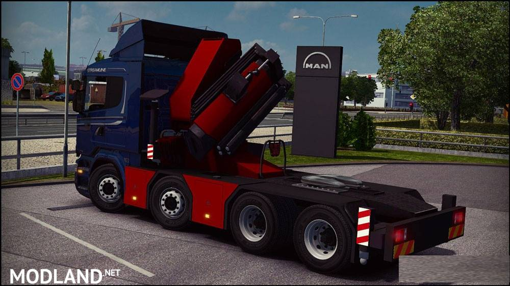 New Chassis For Scania Megamod Mod For Ets 2