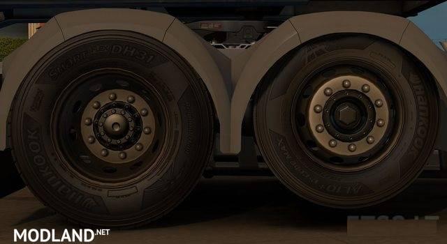 Used Steel Wheels : Used steel rims mod for ets
