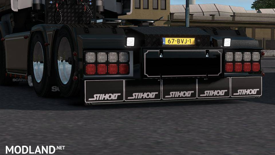 Backbumper V3 For Scania Mod For Ets 2