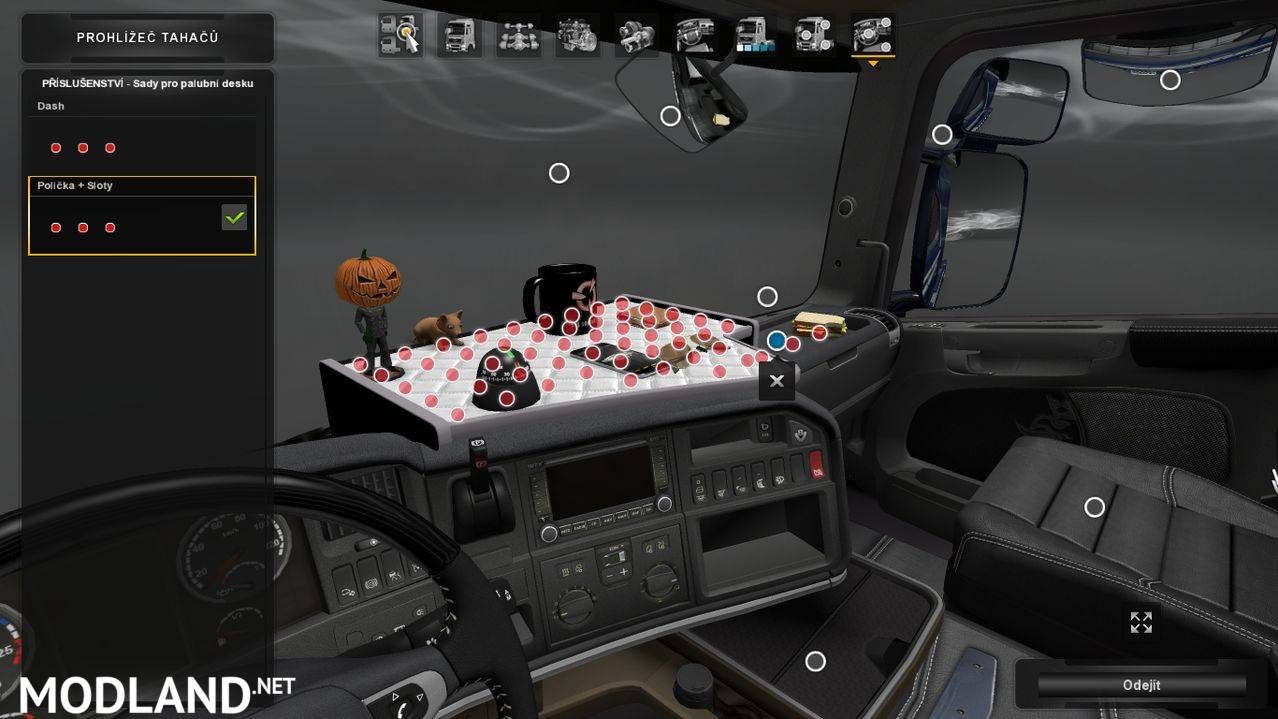 DLC Cabin Accessory Addons mod for ETS 2