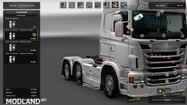 Gtm Rjl Cab Sidebars Mod For Ets 2