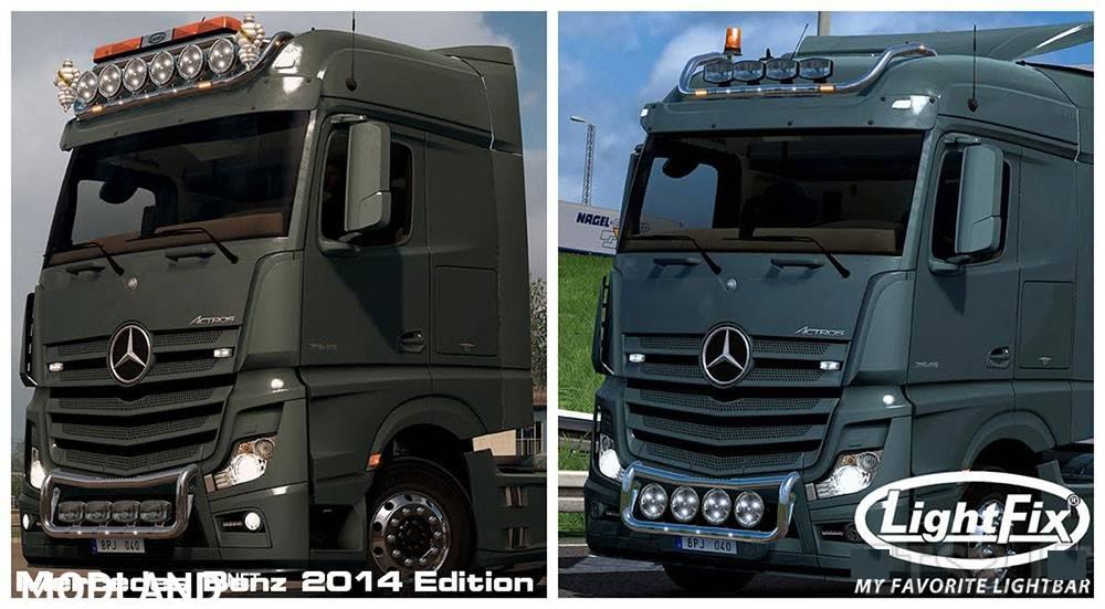 Lightfix Mercedes Benz 2014 Edition Mod For Ets 2