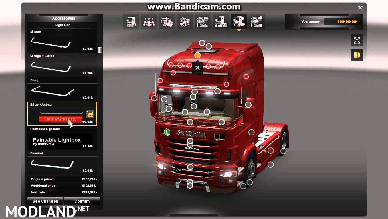 Scania Mega Tuning Mod Mod For Ets 2