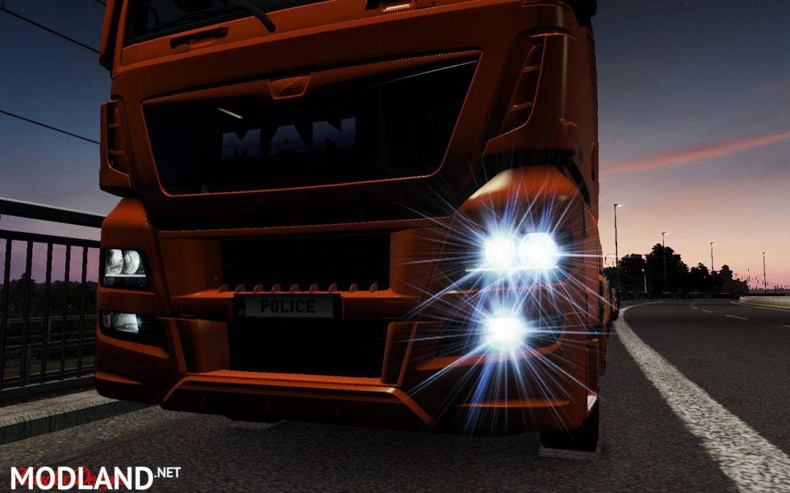 MAN TGX Euro 6 – Working fog light 1.34 – 1.35