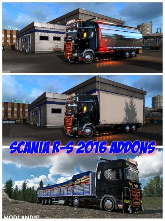 Scania R-S Addons