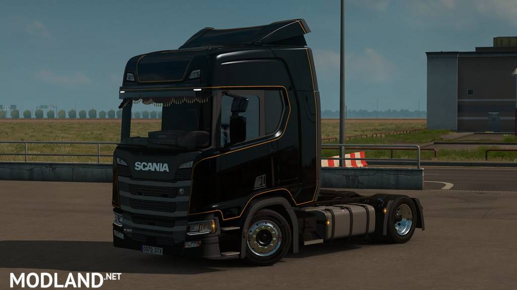 Low deck chassis addon for Scania S&R  Nextgen by Sogard3 v1.9 [1.37]