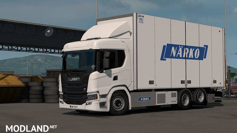 Rigid Chassis Addon for Eugene's Scania NG by Kast v 1.2.2 1.35 & higher