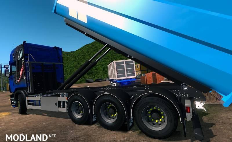 Abroll Scania RJL by FHJ Transporte