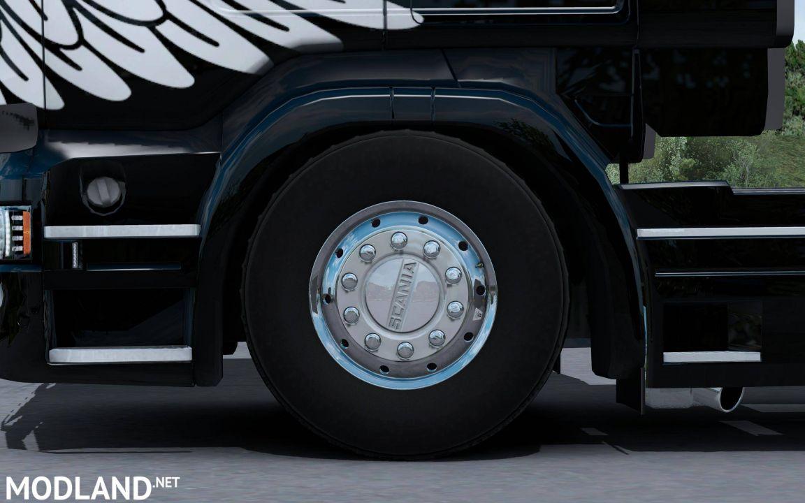 50Keda Tires Reworked v 1.0 1.34.x