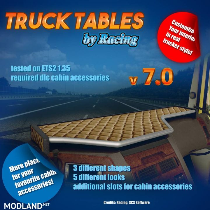 Truck Tables by Racing