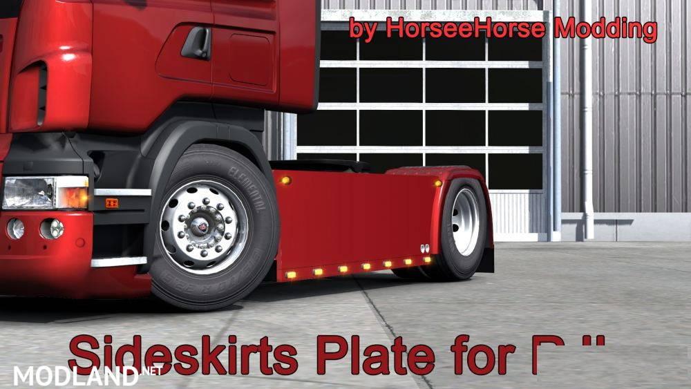Sideskirts Plate for Scania RJL
