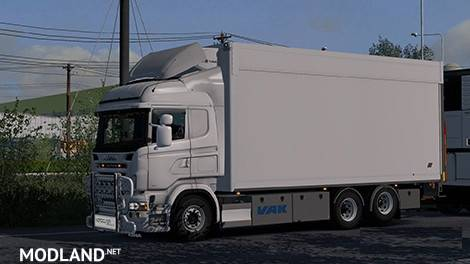 Tandem Addon for RJL Scania RS & r4 by Kast