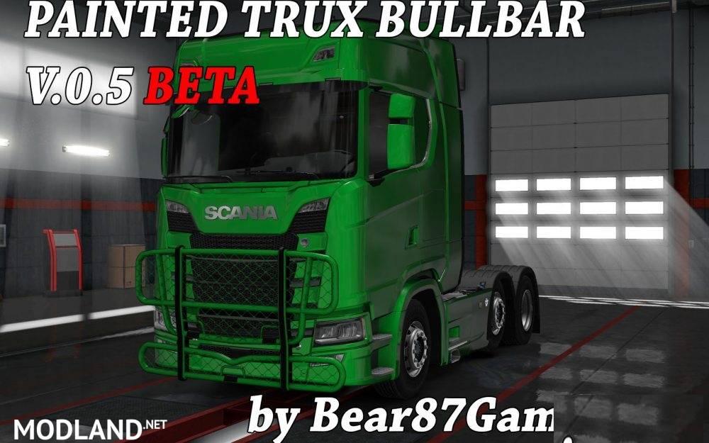 Painted Trux Bullbar NexGen Scania S&R