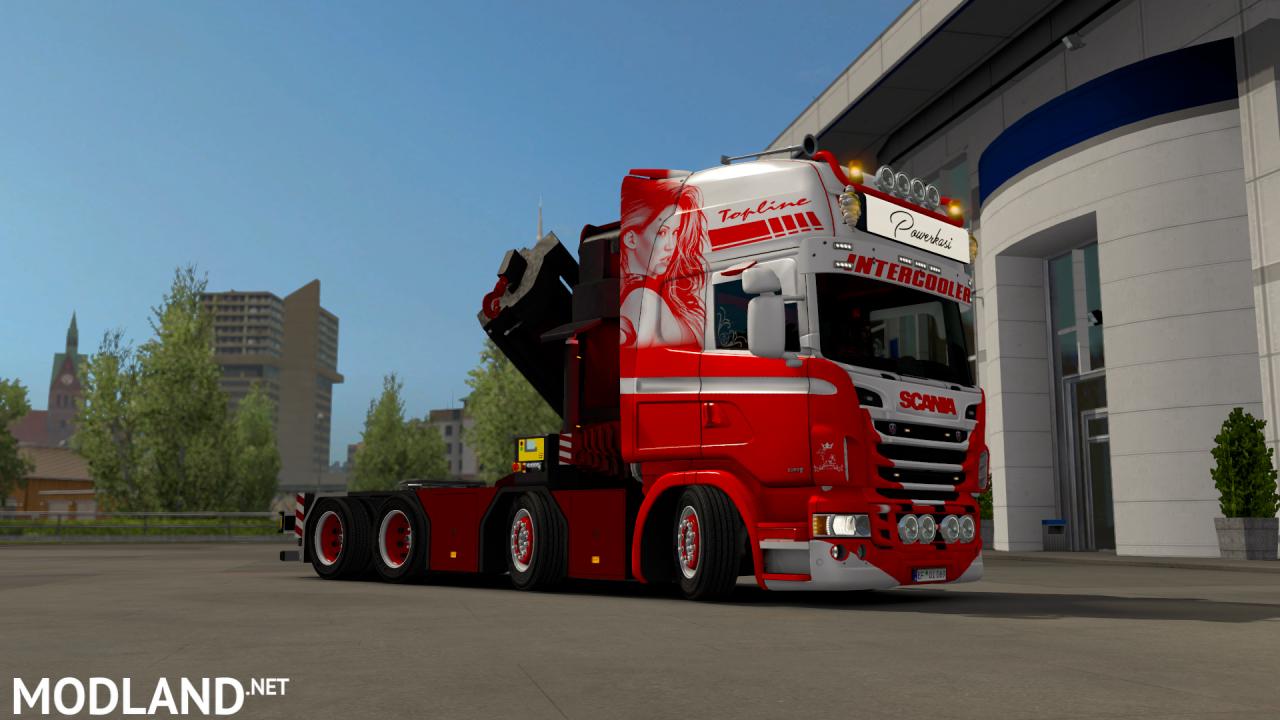 Scania Rjl Crane