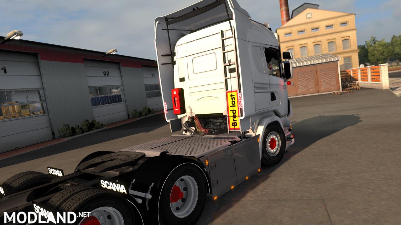 Scania Rjl Ladder + Shield