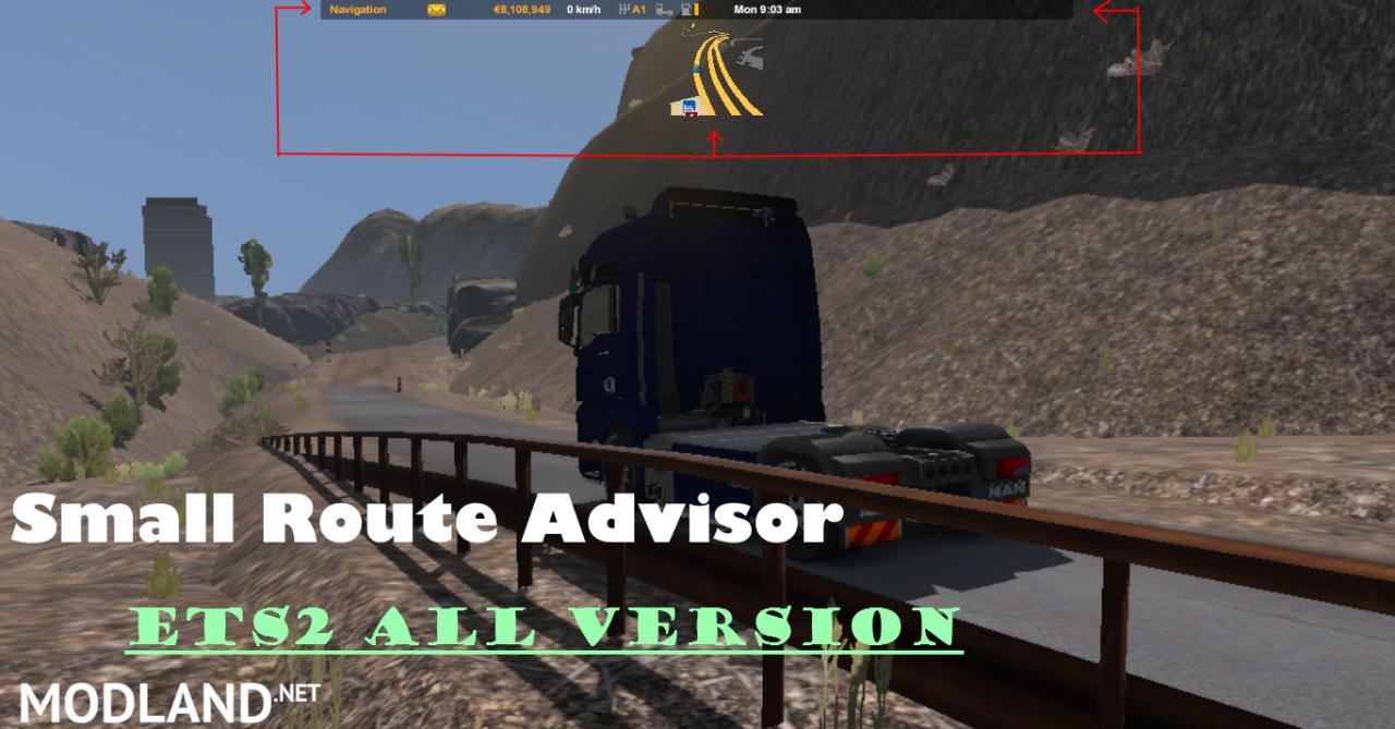 Small Route Advisor Ets mods - modland.net