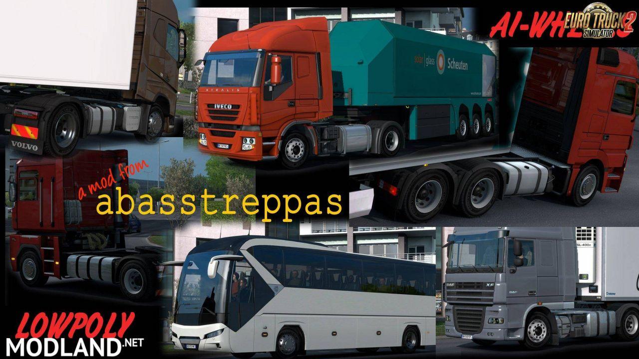New wheels for all AI-trucks v1.01 (1.27 - 1.30)